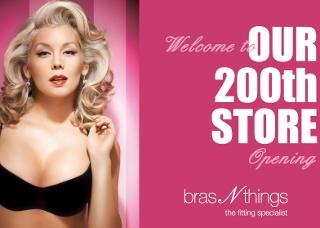 Bras N Things 200th Store Opening