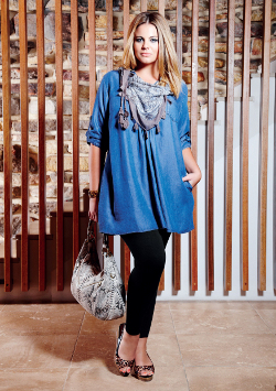 Autograph blue shirt leggings spring 2011