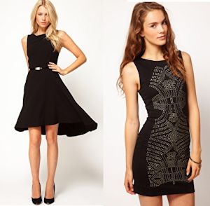 asos little black dresses