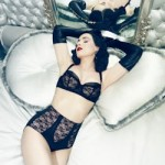 Dita Von Teese sheer witchery