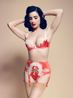 Dita Von Teese star lift watermelon