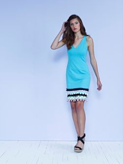 LA dress in sea with couture cotton detailing $599 low res